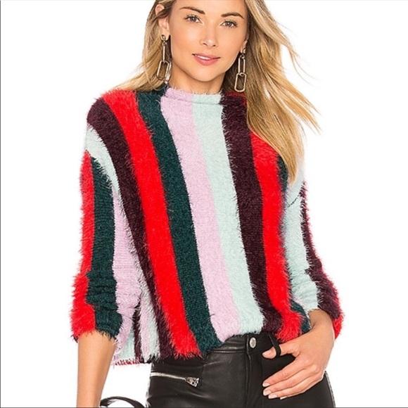 Womens Ruffle Sweater BLANKNYC